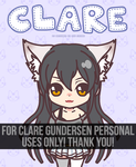 Clare   Request   Character Creation   Animation by ryushurei