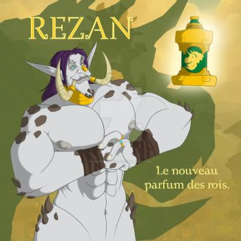 Rezan, the new perfume for kings by Horned-Lyzz