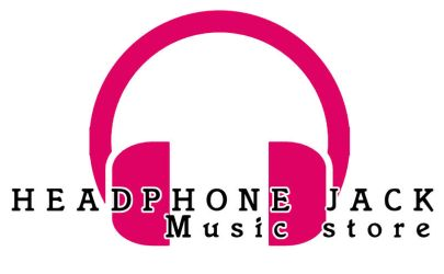 Headphone jack music store logo by m0osegirlhunter