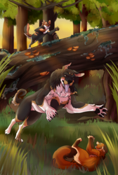 Dog Attack by RBloodwolf