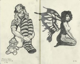 Sketching From Mitchy Bwoy by TheDyson