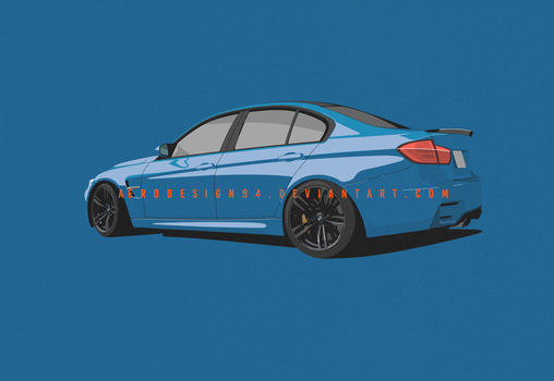 COMMISSION: BMW M3 / F80 by AeroDesign94