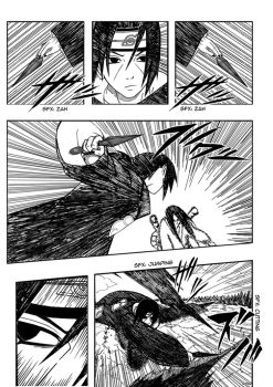 Itachi vs Orochimaru pg 08 by free-energy03