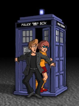 Shaggy as Doctor Who by gillianb