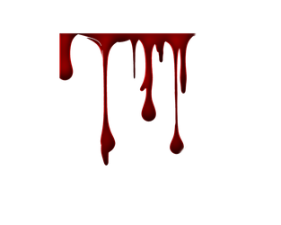 Png Blood Drips 5 by Moonglowlilly