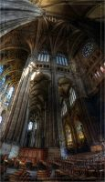 Eglise Saint-Eustache II by hmdll