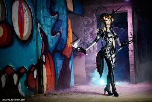One-Punch Man - The Mosquito Girl by vaxzone