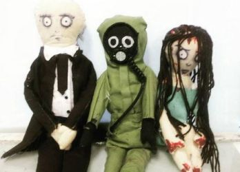 Dolls for Psychostatic Woods by theloverofTMI