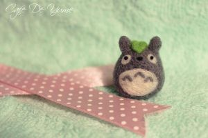 Totoro Plush Phone Charm by celia-tang