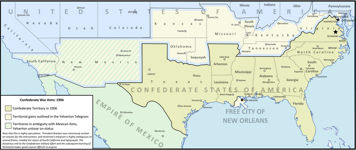 Confederate War Aims: 1906 by Ammonoidea