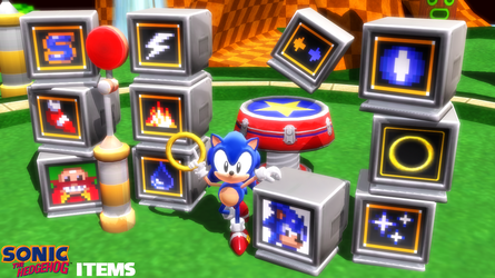 (MMD) Sonic Items and Props Download by SAB64