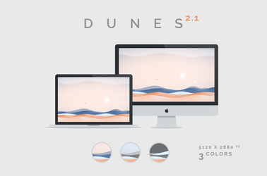 Dunes 2.1 Wallpaper 5120x2880px by dpcdpc11