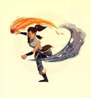 Korra, 2015 by The-Poumi