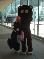 Yachiru and Pedobear lol XD by ShoryukenFighter77