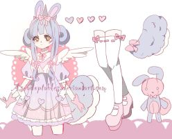 sweet bunny adoptable CLOSED by AS-Adoptables