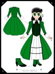 Black Butler OC - Charlotte Whitlock Reference by nibbles7192