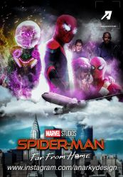 Poster: Spider-Man Far From Home | Character Style by 4n4rkyX