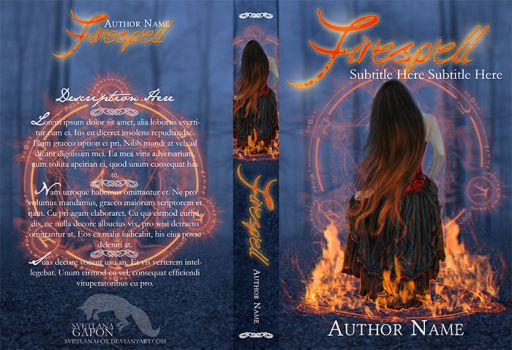 Firespell (Available Bookcover) by SvetlanaFox