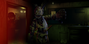 SpringTrap Five Nights at Freddy's 3 by VenomDesenhos