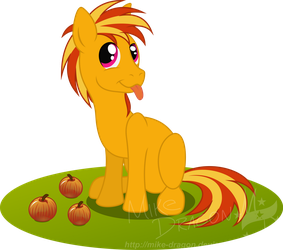 Commish - Lacheses: Playing by the Apples by Mike-Dragon