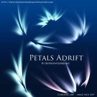 Petals Adrift by differentxdreamz