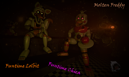 [FNAF6|SFM] Custome Forgottens by evilfeather