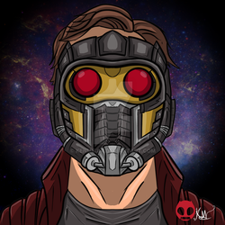 star lord by kenmejia