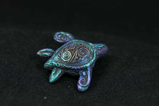 Sea Turtle Totem by hontor