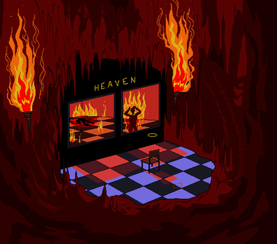 Heaven is a special place in hell by godlyDescentUFO