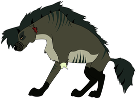 Titan - My First Hyena by Firehart95