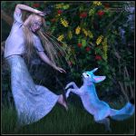 Playful Spirits by Childe-Of-Fyre