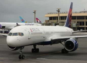 Delta Air Lines 757 by babynuke