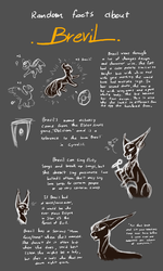 Random Facts About Brevil (EVOLOONS) by CoffeeAddictedDragon