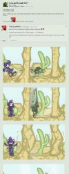 [comic] running loops are for suckers. by runde