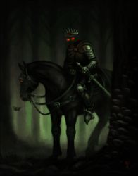 Dark Rider by nilwill