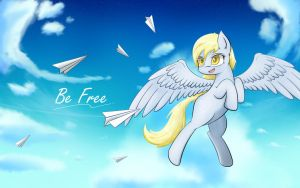 Be Free by Laptop-pone