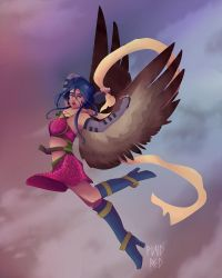 Inuiqa - Flying High by PlaidRed
