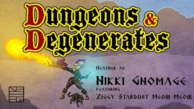 Dungeons and Degenerates Nikki Gnomage by IADM