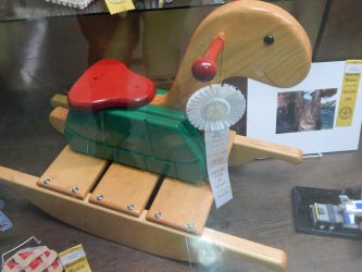 The Turtle Rocking Horse by blah1200