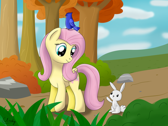 Fluttershy by Cloudy95