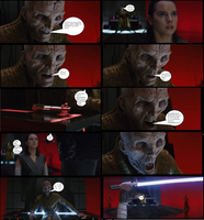 Snoke forgot the most important rule of mind-readi by TheLeondude
