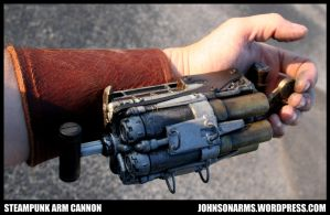 Arm Cannon in Action by JohnsonArmsProps