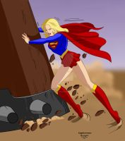 Supergirl m6 by Rogelioroman by THE-Darcsyde