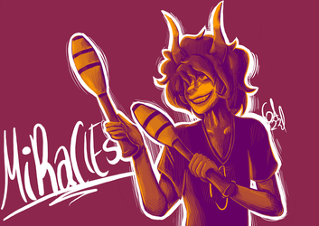 Gamzee pallete- MiRaClEs BrOtHeR by Gameaddict1234