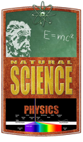 Natural Science Logo - Physics by PlaysWithWolves