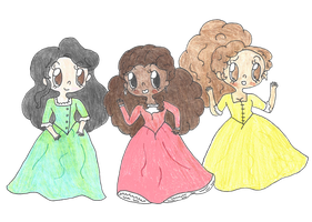 The Schuyler Sisters! by ambidextrious-witch