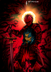 Vigorous Crusader - Darkest Dungeon by DancingSoldier
