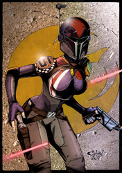 Sabine Wren by GleBik by Ryan-Butler