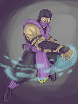 Rain mortal kombat by monkeydonuts246