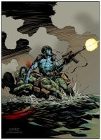 Rogue Trooper by StazJohnson